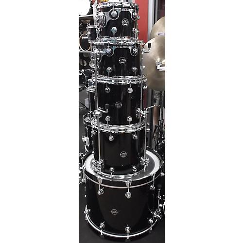 DW 5 Piece Performance Series BLACK MIRRA Drum Kit