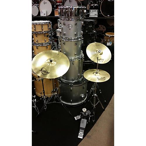 Hohner 5 Piece ROCKWOOD W/CYMBALS & HARDWARE Drum Kit-thumbnail