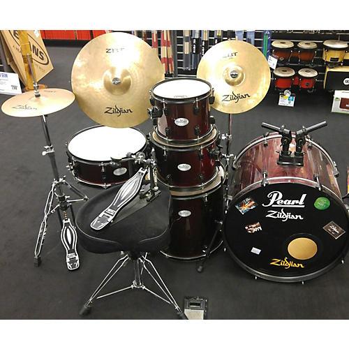 Pearl 5 Piece Soundcheck Complete Drum Kit