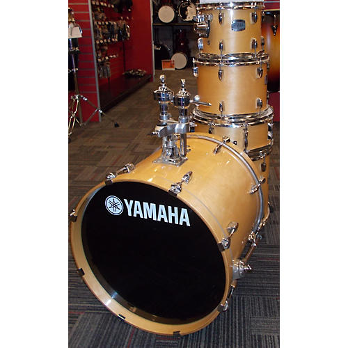 Yamaha 5 Piece Stage Custom Natural Drum Kit-thumbnail