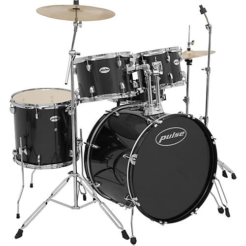 Pulse 5-Piece Standard Drum Set With Cymbals-thumbnail