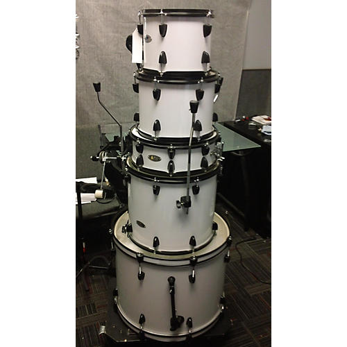 Sound Percussion Labs 5 Piece UNITY White Drum Kit