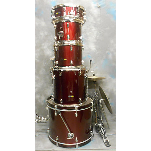 Sound Percussion Labs 5 Piece W/ Hardware HH And Crash Drum Kit