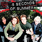 Browntrout Publishing 5 Seconds of Summer 2016 Calendar Square 12 x 12 In.