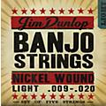 Dunlop 5-String Banjo Light Nickel String Set  Thumbnail