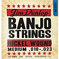Dunlop 5-String Banjo Medium Nickel String Set  Thumbnail