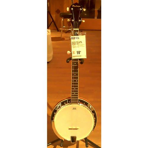 Davison 5 String Banjo With Resonator Banjo