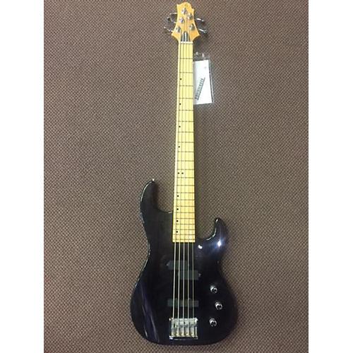 Greg Bennett Design by Samick 5 String Electric Bass Guitar Black