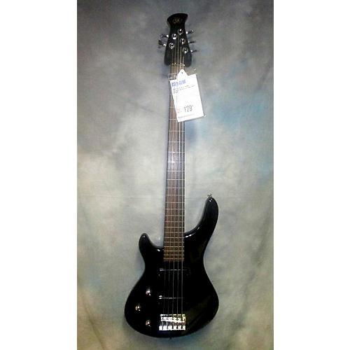 SX 5 String Fretless Electric Bass Guitar