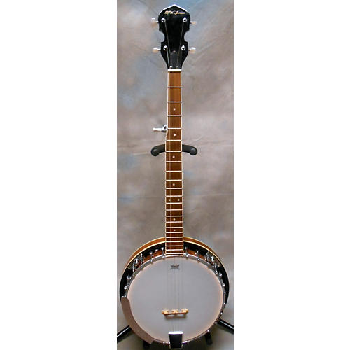 In Store Used 5 String Resonator Banjo-thumbnail