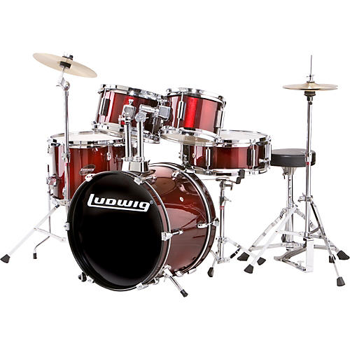 Ludwig 5-piece Junior Drum Set with Cymbals