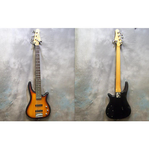 In Store Used 5-string 3 Tone Sunburst Electric Bass Guitar