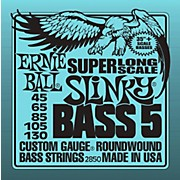Ernie Ball 5-string Slinky Bass Strings Super Long Scale