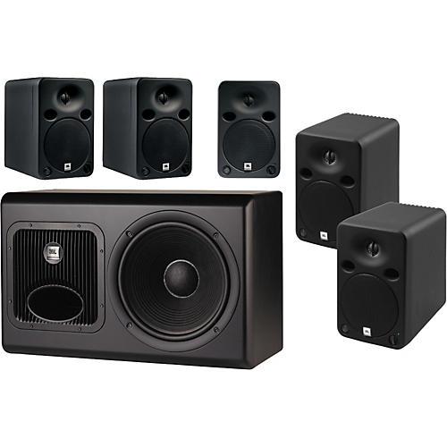 jbl 5 1 surround sound system guitar center. Black Bedroom Furniture Sets. Home Design Ideas