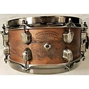 Mapex 5.5X12 Warbird Chris Adler Signature Black Panther Snare Drum
