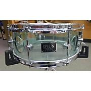 Spaun 5.5X13 Acrylic Vented Snare Drum Drum