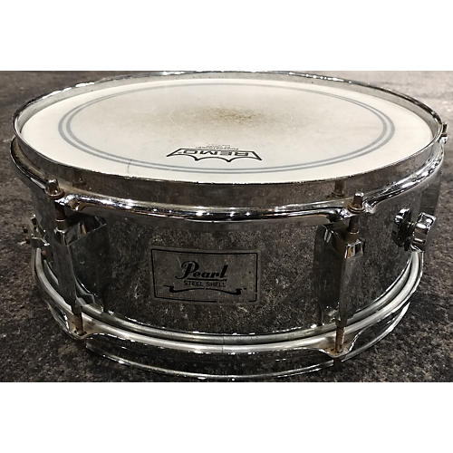 Pearl 5.5X13 STEEL SHELL Drum-thumbnail