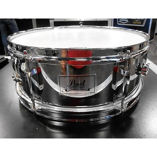 Pearl 5.5X13 Steel Shell Drum-thumbnail
