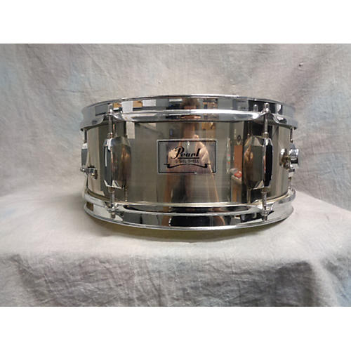 Pearl 5.5X13 Steel Shell Snare Drum Steel 9