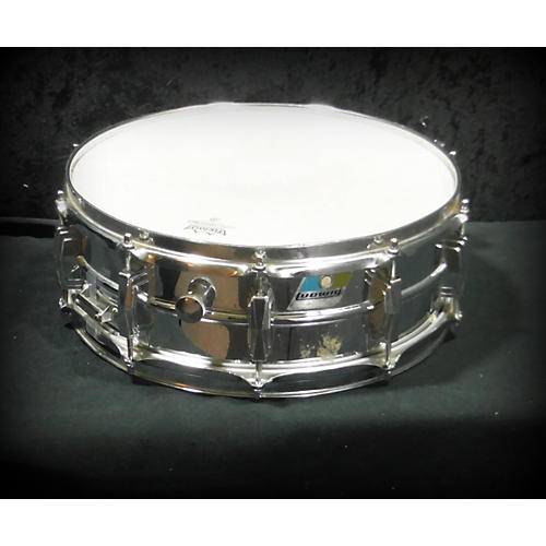 Ludwig 5.5X14 1970's Ludwig Supraphonic Snare Drum Chrome 10