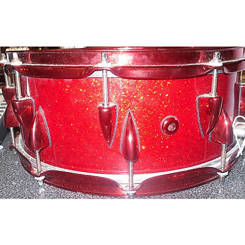 Orange County Drum & Percussion 5.5X14 Adrian Young Signature Snare Drum Red 10