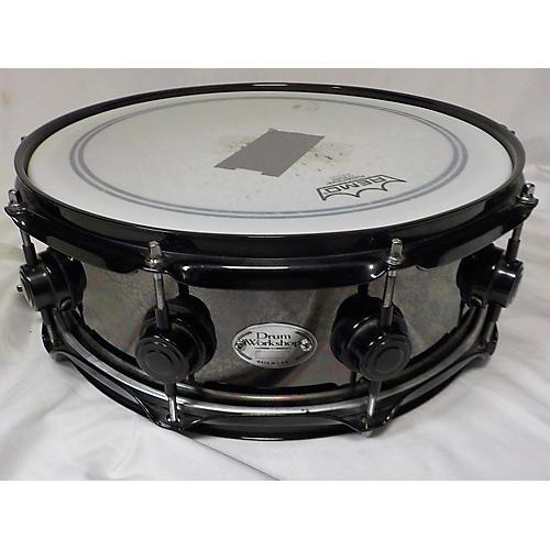 DW 5.5X14 BLACK NICKEL OVER BRASS Drum
