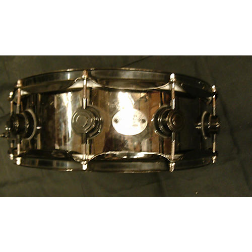 DW 5.5X14 BLACK NICKLE SNARE Drum-thumbnail
