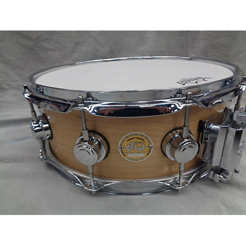 DW 5.5X14 Collector's Series Finish Ply Super Solid Maple Snare Drum-thumbnail