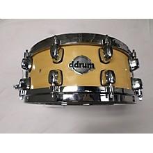 Ddrum 5.5X14 Custom Maple Snare Drum