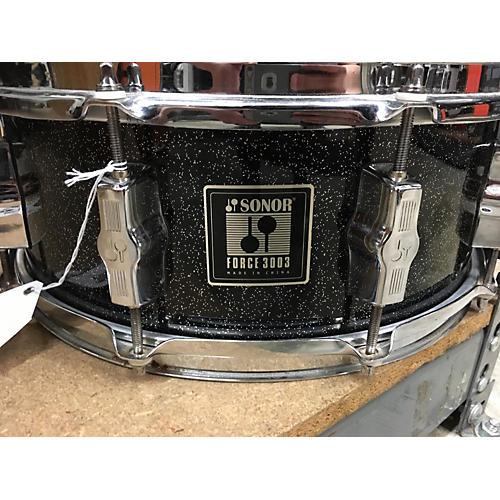 Sonor 5.5X14 FORCE 3003 Drum BLACK SPARKLE 10