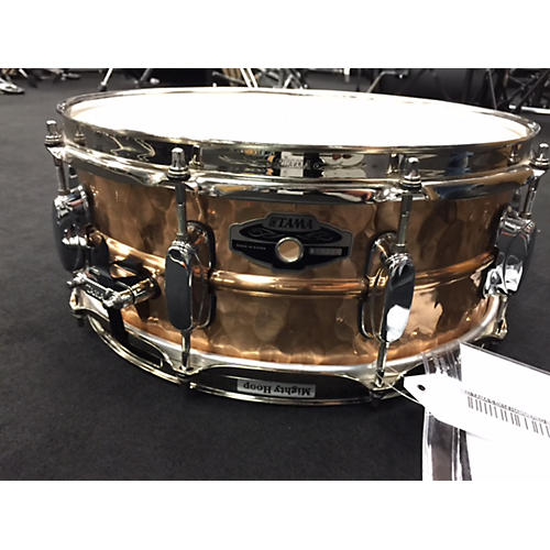 Tama 5.5X14 HAMMERED BRONZE BRONZE Drum-thumbnail