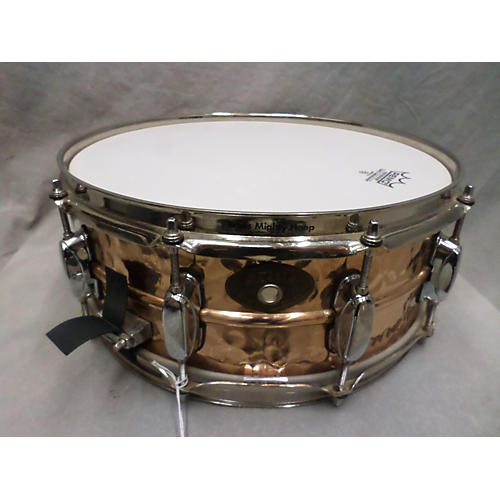 Tama 5.5X14 Hand Hammered Bronze Drum
