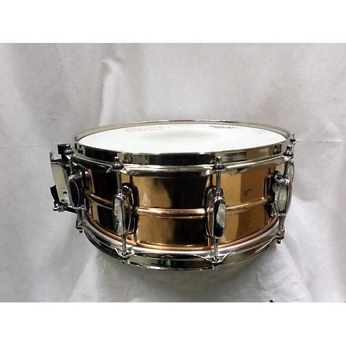 used tama 5 5x14 heavy metal brass drum brass 10 guitar center. Black Bedroom Furniture Sets. Home Design Ideas