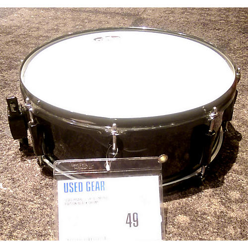 Pearl 5.5X14 LIMITED EDITION Black Drum-thumbnail