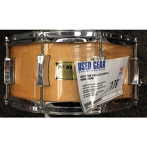 Pork Pie 5.5X14 Maple Snare Drum