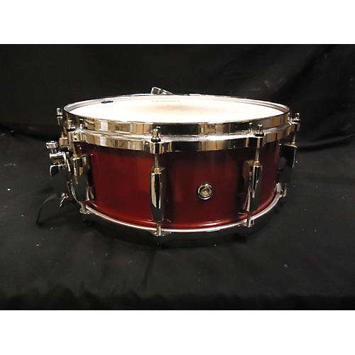 Pearl 5.5X14 Masters MCX Series Snare Drum Wine Red 10