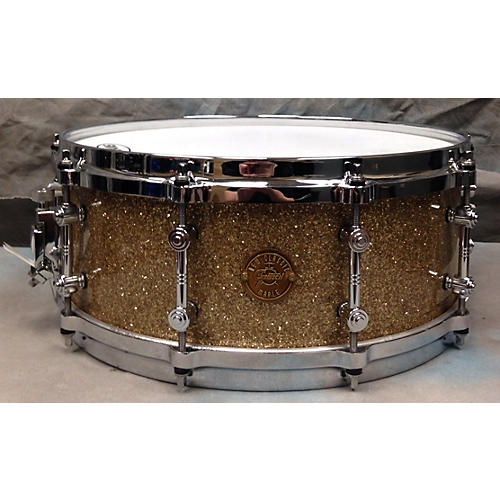 Used gretsch drums 5 5x14 new classic snare drum guitar for Classic house drums