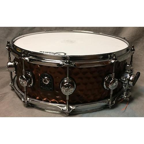 Natal Drums 5.5X14 OLD BRONZE Drum-thumbnail