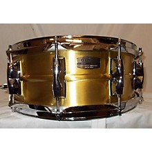 Yamaha 5.5X14 Recording Custom Brass Snare Drum