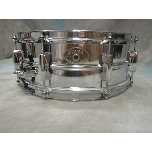 Tama 5.5X14 Rockstar Series Snare Drum Chrome 10