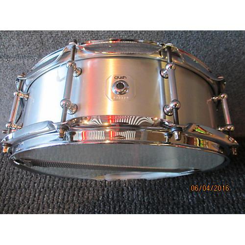 Crush Drums & Percussion 5.5X14 Rolled Aluminum Snare Drum