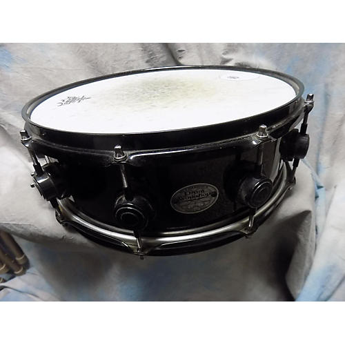 DW 5.5X14 SNARE Drum Black 10