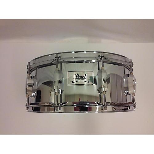 Pearl 5.5X14 STEEL SHELL Drum-thumbnail