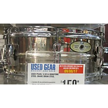Pearl 5.5X14 Sensitone Steel Snare Drum