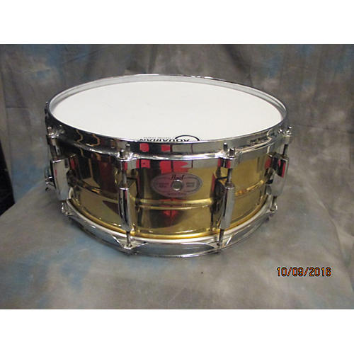 Pearl 5.5X14 Session Elite Drum brass 10
