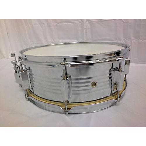 used groove percussion 5 5x14 steel drum chrome 10 guitar center. Black Bedroom Furniture Sets. Home Design Ideas