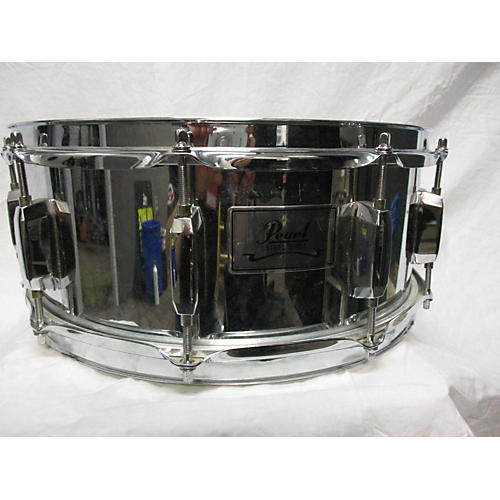 Pearl 5.5X14 Steel Shell Snare Drum-thumbnail