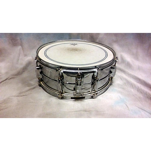 In Store Used 5.5X14 Steel Snare Drum-thumbnail