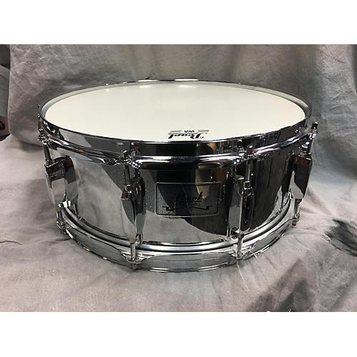 Pearl 5.5X14 Steel Snare Drum-thumbnail