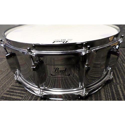 Pearl 5.5X14 Steel Snare Drum